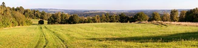Montanhas do Bohemian e do Moravian - República Checa foto de stock royalty free