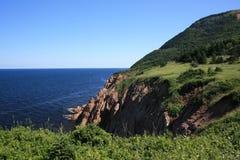 Montanhas do bretão do cabo Fotografia de Stock Royalty Free