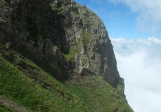 Montanhas do Cáucaso Imagem de Stock