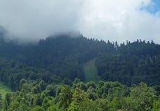 Montanhas do Cáucaso 9 Foto de Stock Royalty Free
