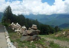 Montanhas do Cáucaso 11 Foto de Stock Royalty Free