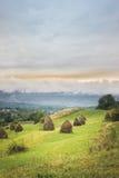 Montanhas do campo Imagens de Stock Royalty Free