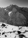 Montanhas do caucasian do russo Imagem de Stock Royalty Free