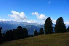 Montanhas do cume e da dolomite Imagens de Stock Royalty Free