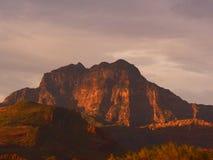 Montanhas do deserto de Baja Fotos de Stock