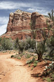 Montanhas do deserto de Sedona o Arizona Foto de Stock