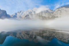Montanhas do gelo Fotos de Stock Royalty Free