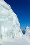 Montanhas do gelo em Sibéria Foto de Stock Royalty Free