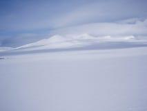 Montanhas do inverno Fotografia de Stock
