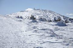 Montanhas do inverno Imagens de Stock Royalty Free