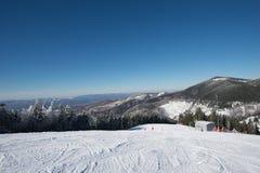 Montanhas do inverno Imagem de Stock