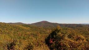 Montanhas do NC na queda Fotografia de Stock Royalty Free