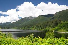 Montanhas do norte do Columbia Britânica Canadá Imagem de Stock Royalty Free