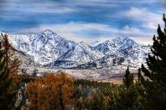 Montanhas do outono imagens de stock royalty free