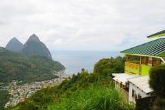 Montanhas do pitão Fotos de Stock Royalty Free