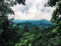 Montanhas do smokey de Tennessee Fotos de Stock
