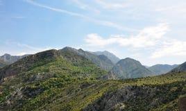 Montanhas do vale Imagens de Stock Royalty Free