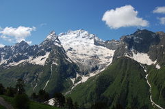 Montanhas Dombai Imagem de Stock Royalty Free