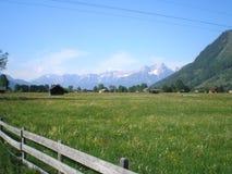 Montanhas dos alpes Fotografia de Stock Royalty Free