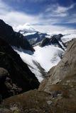 Montanhas dos alpes em Áustria Imagem de Stock