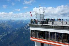 Montanhas dos cumes em Alemanha Imagem de Stock
