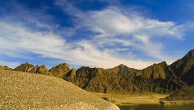 Montanhas dos emirados Imagem de Stock