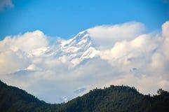 Montanhas dos Himalayas Fotografia de Stock