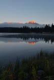Montanhas douradas Foto de Stock Royalty Free