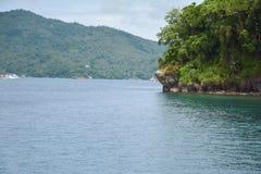 Montanhas e água Fotografia de Stock