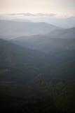 Montanhas e céu fotos de stock royalty free