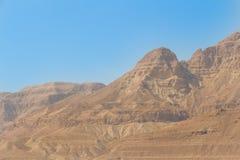 Montanhas e céu no deserto de Israel Foto de Stock Royalty Free