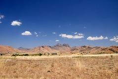 Montanhas e estepes de Andringitra, Madagáscar Imagens de Stock