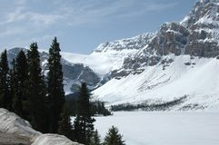Montanhas e geleira americanas de NNorth Fotos de Stock