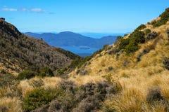 Montanhas e lagos Fotografia de Stock Royalty Free