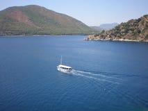 Montanhas e mar de Turquia Imagens de Stock