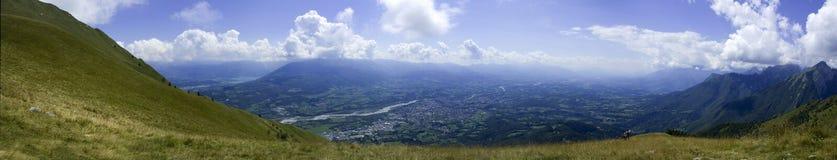 Montanhas e paisagens Imagem de Stock