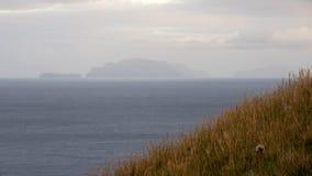 Montanhas e penhascos de Madeira Fotografia de Stock Royalty Free