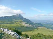 Montanhas e prados de Gorbea Imagens de Stock