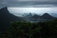 Montanhas e praias de Brasil Foto de Stock Royalty Free