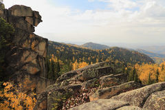 Montanhas e rochas Foto de Stock Royalty Free