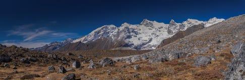 Montanhas e vales Foto de Stock