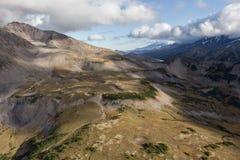 Montanhas e vulcões Fotos de Stock