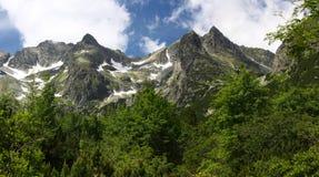Montanhas elevadas de Tatras, Slovakia Foto de Stock
