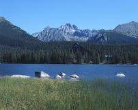 Montanhas elevadas dos tatras foto de stock
