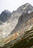 Montanhas elevadas dos tatras, slovakia Imagem de Stock