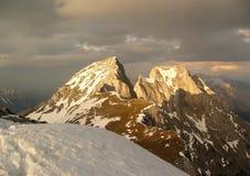 Montanhas em Áustria Foto de Stock
