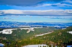Montanhas em Áustria Fotos de Stock Royalty Free