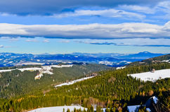 Montanhas em Áustria Imagem de Stock Royalty Free