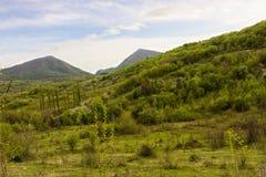 Montanhas em Abakhasia Imagem de Stock Royalty Free