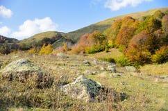 Montanhas em Abakhasia Fotografia de Stock